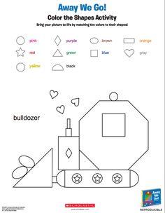 Preschool Worksheets Age 2