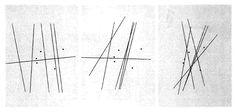 Le Laboratoire du GESTE - John Cage, Variations I-III ( 1961)  Dans ces partitions graphiques, Cage utilise uniquement le cercle comme figure de notation, issue d'une disposition aléatoire des cercles sur les feuilles de papier, selon des principes établis par Cage (chevauchement, variables d'interpénétration), et ce pour mesurer l'espace et le temps propre à cette partition.