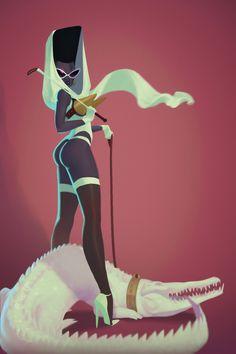 Shades of Excellence — fyblackwomenart: Grace Jones by Deni Dimochka