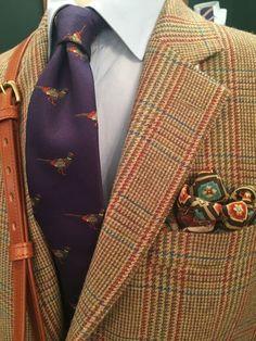 Pheasants and tweed Gentleman Mode, Gentleman Style, Sharp Dressed Man, Well Dressed Men, Classic Man, Classic Style, Suit Fashion, Mens Fashion, Fall Fashion