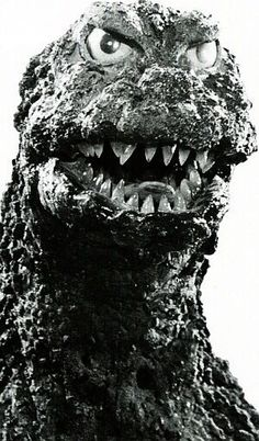 Godzilla was probably the first sea monster of my childhood. Cool Monsters, Classic Monsters, Sea Monsters, Famous Monsters, Scary Movies, Horror Movies, Cartoon Meme, Old Posters, Giant Monster Movies