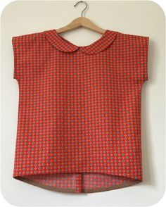 Before the arrival of spring, I already had a strong desire to test Ivann S. Too Top boss for this first test, I started with the … Source by caroulmer Vintage Shirts, Vintage Tops, Vintage Outfits, Umgestaltete Shirts, Collar Shirts, Trop Top, Shirt Refashion, Couture Sewing, Mode Inspiration