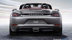 The new Porsche 718 Boxster