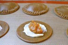 Gingerbread Cream Cheese Pumpkin Empanadas