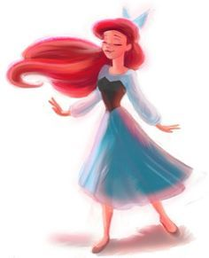 This is my favorite outfit of Arial's. ❤️