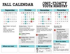 freebie friday free fall youth ministry calendar youth.html