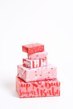 valentine gift wrap