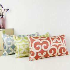 2015 Jacquard Quatrefoil acento decorativo cojines lumbares sofá moderno oblonga cubierta del amortiguador Lumbar geométrica Throw Pillow Covers en Cojines de Casa y Jardín en AliExpress.com | Alibaba Group