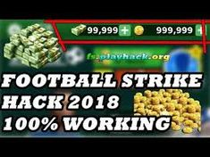 New Football Strike hack is finally here and its working on both iOS and Android platforms. Football Strike, Play Hacks, Free Cash, Hack Online, Hack Tool, Cheating, Stuff Stuff, Places