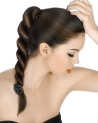Great Summer Hairstyles - Summer's approaching fast and you certainly want a practical and versatile hairstyle that looks gorgeous. Read on to get inspired for some great summer hairstyles! Braided Ponytail Hairstyles, Sleek Ponytail, Braided Hairstyles Tutorials, Hairstyle Braid, Hair Tutorials, Fancy Ponytail, Hairstyle Photos, Wedding Hairstyle, Hairstyle Ideas