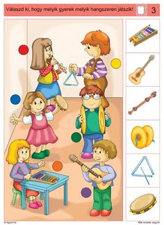 Crafts,Actvities and Worksheets for Preschool,Toddler and Kindergarten.Lots of worksheets and coloring pages. Music Lessons For Kids, Music Lesson Plans, Music For Kids, Autism Activities, Activities For Kids, Music Education, Kids Education, Sequencing Cards, Music Crafts
