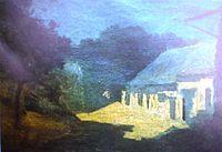 Martín Malharro (Azul, 1865 – Buenos Aires, 17 de agosto de 1911), fue un pintor argentino.  Formado en Buenos Aires y en París, introdujo el impresionismo en Argentina. Su pintura, de avanzada para la época, se caracteriza por el uso del juego luminoso en sus pinturas.  Fue ilustrador, pintor, crítico y pedagogo.