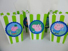 Peppa Pig George Pig Popcorn Box/ Birthday Party / by FluidYard