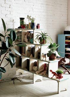 dinos + greenery...