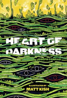 "Matt Kish returns to Books by the Banks with  an illustrated version of Joseph Conrad's ""Heart of Darkness."""
