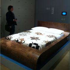 """#fuorisalone Milano 2012 """"Parq Life' bed"""