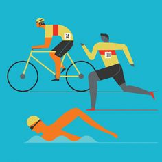 Illustration by Neil Stevens for JSR Agency artist agents. We offer a full service for advertising, product and editorial Triathlon Checklist, Triathlon Humor, Kids Triathlon, Olympic Triathlon, Triathlon Tattoo, Triathlon Swimming, Triathlon Wetsuit, Sprint Triathlon, Triathlon Motivation