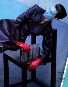 dana taylor by sebastian mader for vogue russia june 2013 #fashion #photography