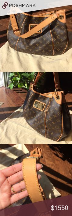 LOUIS VUITTON GALLIERA PM Beautiful bag... open to trade.Also listed in my other closet @shindru1.              TRADE VALUE $1800                                        Looking for Gucci soho bag.... let me know if you have one to trade  Louis Vuitton Bags