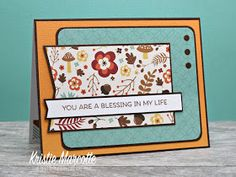 The best things in life are Pink.: Echo Park's A Perfect Autumn collection - One paper pad into 35 cards Scrapbook Generation, Echo Park Paper, Spellbinders Cards, Thanksgiving Cards, Fall Cards, Card Sketches, Paper Cards, Cute Cards, Greeting Cards Handmade