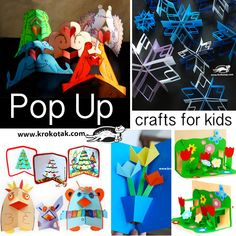 How to Make Pop-Up Cards & Crafts