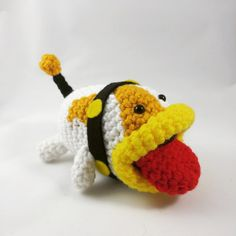 Poochy is a crazy looking dog that helps you in Yoshi's Woolly World. I think he's the cutest ugly dog I've ever seen. I made a coupleof these as custom orders and then I listed …