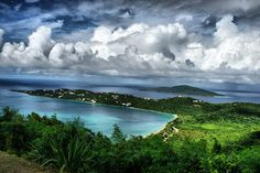 Megan's Bay, St. Thomas VI-my favorite beach in the world...I will be there on MOn March 18