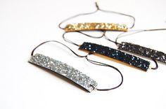 Glitter Bracelet by ChouetteFille on Etsy
