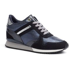 1791681d6f Tommy Hilfiger Midnight Metallic Sneaker ( 120) ❤ liked on Polyvore  featuring shoes