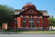 Dr. Eugene Clark Library, Lockhart, Texas, oldest operating library in the state of Texas