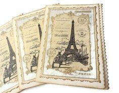 Vintage Paris Cards