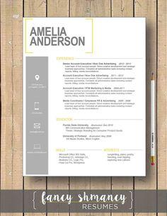 Resume Cover Letter Templates 15 Unique Résumé And Cover Letter Templates  Graphic Design .