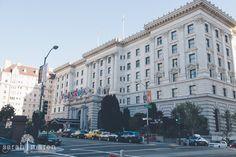 Fairmont Hotel San Francisco Wedding Photos - Sarah Maren Photographers