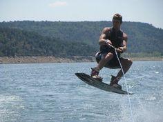 Wakeboarding...Picture taken at McPhee Reservoir...