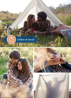 A Cozy Outdoor Engagement