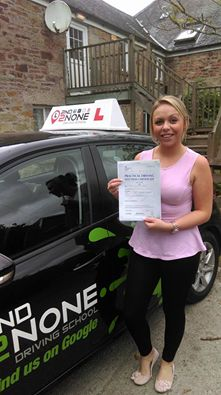 Congratulations to Chloe Massey from Falmouth on passing her practical driving test today 22/09/16 at Camborne test centre. A great drive with just 4 minor faults and a first time pass!  Good luck for the future Chloe from your instructor Stuart Holloway & all at 2nd2none Driving School   https://www.2nd2nonedrivingschool.co.uk/driving-lessons-falmouth-cornwall.html