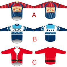 New Mens Christmas Cycling jersey Thermal Fleece Long Sleeves Bike Tops  Outfits dca817916