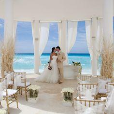 Wedding at Le Blanc Hotel Cancun