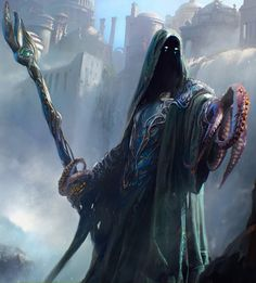 "fantasy-art-engine: "" Sea Wizard by Maciej Kuciara """