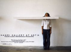 Hanmi Gallery is pleased to present Yingmei Duan's performance installation Patience (2004)   Patience will take place in Art14 at the following times:   27 Feb, 3-9pm    28 Feb, 1-7pm    1 Mar, 1-7pm   2 Mar, 12-6pm