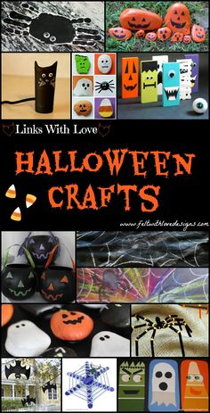 Links With Love: Halloween Crafts {Felt With Love Designs}