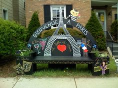 Paris Bench 2008 - Tinley Park IL 60477 by TinleyPark, via Flickr
