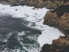 Garrapata Beach Bluff Trail Morning Tide Big Sur California Highway 1 photo by Ricky Stephens of A Modern Villain