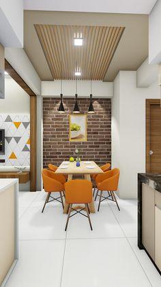 Kitchen Ceiling Design, House Ceiling Design, Ceiling Design Living Room, Kitchen Room Design, Small House Design, Modern Kitchen Design, Kitchen Interior, Modern Home Interior Design, Apartment Interior Design