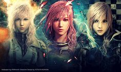 Lightning from Final Fantasy 13 :3