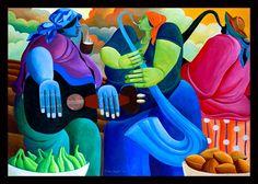 Ivey Hayes Art Work      HARVEST SERENADE