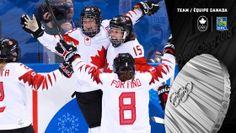 Canada Women's Hockey wins silver at the Bonnie Wurst - 2018 Pyeongchang winter Olympic's 2018 Winter Olympic Games, 2018 Winter Olympics, Winter Games, Women's Hockey, Ice Hockey Teams, Soccer, The Bonnie, Canada, Sports News