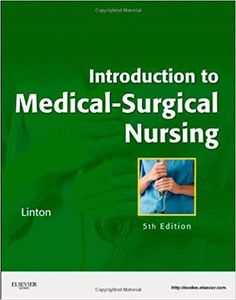 Test bank for Introduction to Medical Surgical Nursing Edition by Linton - Shop Solutions Manual and Test Bank Online Nursing Schools, Lpn Schools, Medical Surgical Nursing, Nursing Care, Nurse Patient Relationship, Online Nursing Degree, Nursing Process, Accelerated Nursing Programs