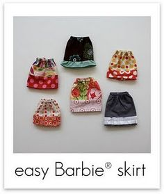 scroll to the bottom of this tutorial list for barbie clothes tutes to turn the scantily clad favourite doll of many a little girl into someone you don't mind them hanging out with constantly.