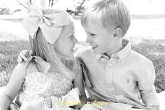 Brother & sister shoot!! maddieclairephotography.com